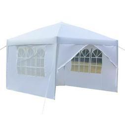 10'x 10' Blue EZ Pop UP Party Tent Outdoor Canopy Folding Ga