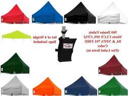 10 X 10 Ez Pop Up Canopy Replacement Top Caravan Gazebo Tent