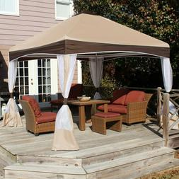 King Canopy 10' x 10' Garden Party Backyard Canopy with Cove