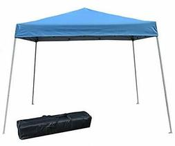 Impact Canopy 10' x 10' Instant Slant-Leg Canopy Tent, Royal