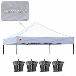 ABCCANOPY 10' X 10'Pop up Canopy Tent Replacement Canopy Top
