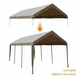 Abba Patio 10 x 20-Feet Carport Replacement Top Canopy Cover