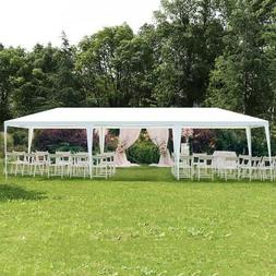 Steel Frame Tent 10 x 30 Standup Canopy Outdoor Gazebo Party