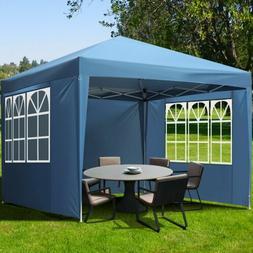 10'x10' Canopy Party Wedding Tent Outdoor Pavilion Heavy Dut