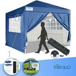 Quictent 10'x10' EZ Pop Up Canopy Outdoor Patio Blue Wedding
