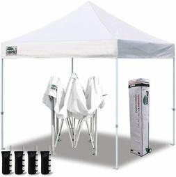 Eurmax 10'x10' Ez Pop Up Canopy Tent Commercial Instant Cano