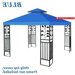 Benefitusa  10'X10' Gazebo Canopy Top Patio Pavilion Cover S