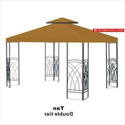 Benefitusa 10'X10'  Gazebo Top Canopy Patio Pavilion Cover S