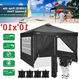 10'x10' Heavy Duty Canopy Outdoor Wedding Party Tent Gazebo