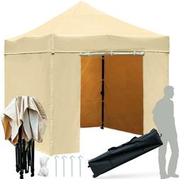 10 x10 Outdoor Canopy Tent with Walls,Heavy Duty Canopies wi