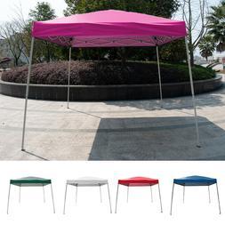 10' x10'Outdoor Slant Leg EZ Pop Up Canopy Wedding Party Ten