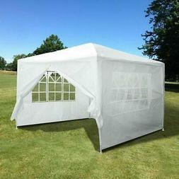 10'x10' Party Tent Outdoor Heavy Duty Gazebo Wedding Canopy