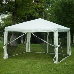 10'x10' Patio Gazebo Outdoor Canopy Pop Up Wedding Party Ten