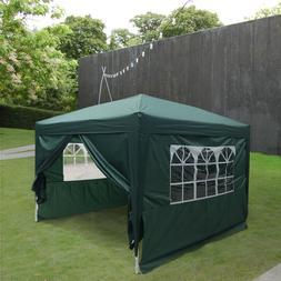 10'x10' Pop UP Canopy Tent Wedding Party Folding Gazebo Heav