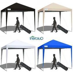 Quictent 10x10 EZ Pop Up Canopy Outdoor Wedding Folding Pati