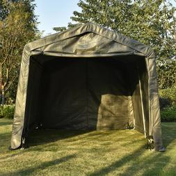 10x10x8ft Auto Shelter Portable Garage Storage Shed Canopy C