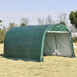 10x15 FT Canopy Carport Tent Car Shed Outdoor Storage Cover