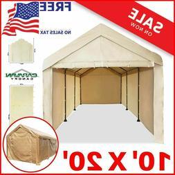 10X20 Garage Tent Carport Car Shelter Sidewall Kit Canopy Co