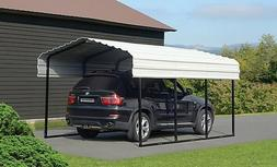 10x15x7 Arrow Shed ShelterLogic Metal Carport Canopy CPH1015