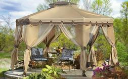 12' x 12' Pop Up Canopy Portable Patio Backyard Shelter Gaze