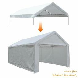 Abba Patio 12 x 20-Feet Carport Replacement Top Canopy Cover