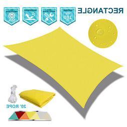 180 gsm waterproof rectangle sun shade sail