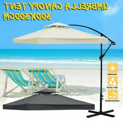 2-Tier 10'x10' Replacement Canopy Tent Top Patio Garden Outd