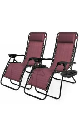 Best Choice Products 2 Zero Gravity Lounge Chair Recliners P