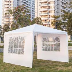 3 x 3m Outdoor Canopy Party Wedding Tent Gazebo Pavilion Wit