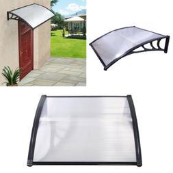 "40""x 40"" DIY Door And Window Canopy Awning Porch Sun Rain Sh"
