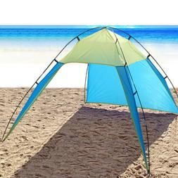 5-8 Person Pop Up Beach Tent Sun Shade Shelter Outdoor Campi