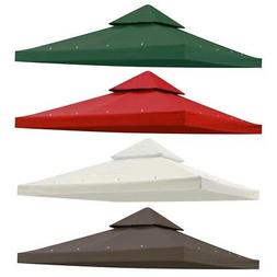 8x8' 2 Tier Gazebo Top Canopy Replacement Cover UV30+ Outdoo