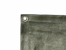 Shatex 90% Sun Shade Cloth with Grommets for Pergola Cover C