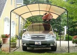 9x16 ShelterLogic Monarc Canopy Carport Portable Garage Shad