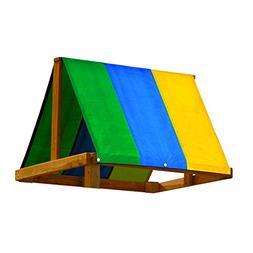 "Swing-N-Slide 52"" x 90"" Multi-Color Swing Set Replacement Ta"