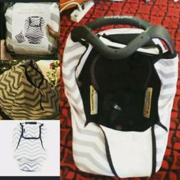 Baby Car Seat Covers-Multifunctional Infant Carseat Canopy f