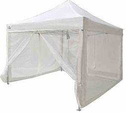 Impact Canopy Breeze Wall Kit Zippered Mesh Sidewalls for 10