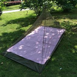 Camping Mosquito Insect Net Netting Cover Canopy Outdoor Tra