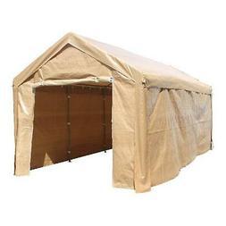 Canopy Carport Outdoor Storage Tent 10x20 Steel Frame Waterp