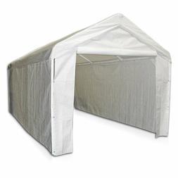 Canopy Side Wall Kit 10 X 20 Caravan Carport Garage Enclosur