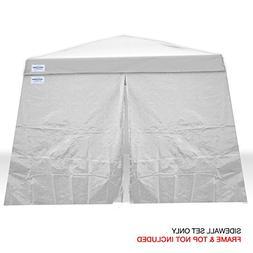 Caravan Canopy Sports 10' x 10' V-Series 2 Sidewall Kit