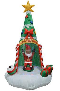 Impact Canopy Christmas Yard Inflatables Decorations Santa C