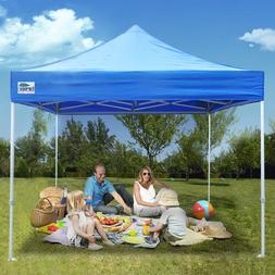 Commercial Outdoor Ez Pop Up Canopy 10x10 Folding Patio Shad