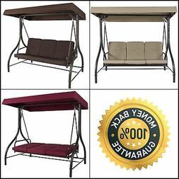 Converting Outdoor Swing Canopy Hammock Seats 3 Patio Furnit