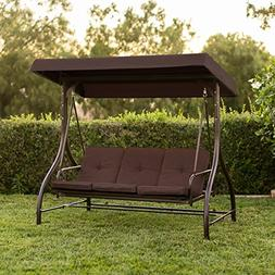 Converting Outdoor Swing Canopy Hammock Seats 3 Patio Deck F