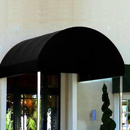 Awntech Entrance Canopy Black 6'W x 10'D x 8'H, Lot of 1