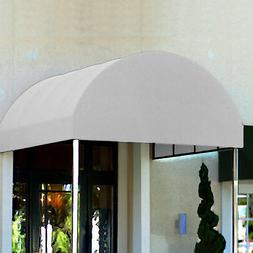 Awntech Entrance Canopy Off-White 6'W x 18'D x 8'H