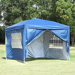 Easyzon EZ Pop Up Patio Canopy Tent Heavy Duty Gazebo Pavili