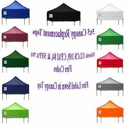 Ez Pop Up 5x5 Canopy Tent  Replacement Top Cover Caravan Gaz