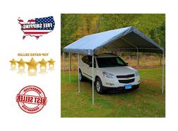 NEW 10' X 20' King Canopy Frame Replacement Cover Top - Silv